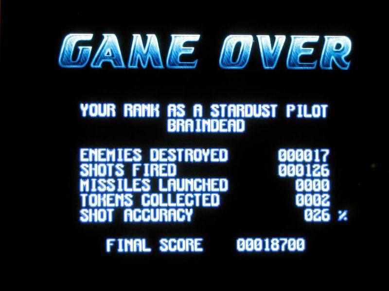 computer game score